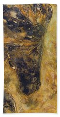 Hand Towel featuring the painting Mystic by John Stuart Webbstock