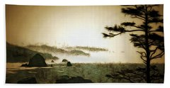 Mystic Landscapes Bath Towel