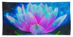 Mystic Lotus Bath Towel