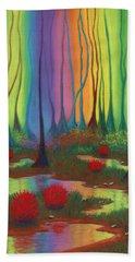 Mystic Marsh 01 Panel B Hand Towel
