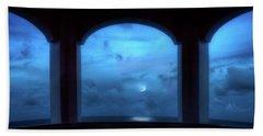 Mystic Moonrise Hand Towel