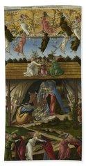 Mystic Nativity -- Bath Towel