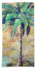 Mystic Palm Bath Towel by Kristen Abrahamson