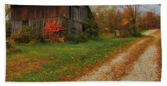 Mystical Country Lane  Bath Towel