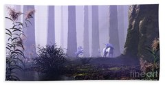 Mystical Forest Hand Towel