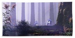 Mystical Forest Bath Towel
