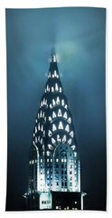Mystical Spires Hand Towel by Az Jackson