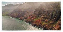 Na Pali Coast 4 - Kauai Hawaii Hand Towel