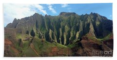 Na Pali Coast Bath Towel