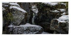 Nairn Falls, Winter Bath Towel