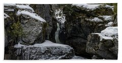 Nairn Falls, Winter Hand Towel