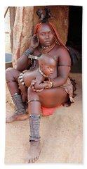 Namibia Tribe 9  Hand Towel