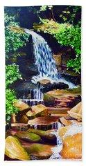 Nantahala Waterfall Hand Towel