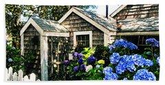 Nantucket Cottage No.1 Hand Towel by Tammy Wetzel