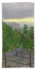 Napa Valley At Dawn Hand Towel