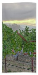 Napa Valley At Dawn Bath Towel