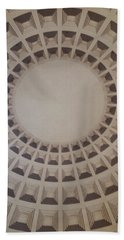 Narrow View Of A Dome Hand Towel