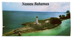 Bath Towel featuring the photograph Nassau by Gary Wonning