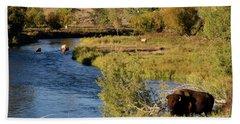 National Bison Range Bath Towel