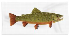 Native Brook Trout Bath Towel