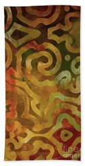 Native Elements Earth Tones Bath Towel by Mindy Sommers