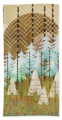 Native Summer Hand Towel