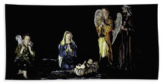 Nativity Scene Bath Towel