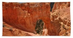 Hand Towel featuring the photograph Natural Bridge Bryce Canyon National Park by Frank Madia