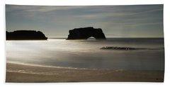 Natural Bridges State Beach Sand Hand Towel