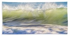 Natural Chaos, Quinns Beach Hand Towel by Dave Catley