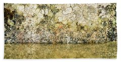 Bath Towel featuring the photograph Natural Stone Background by Torbjorn Swenelius