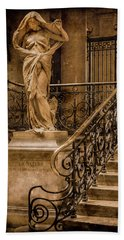 Paris, France - Nature Bath Towel