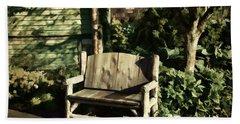 Nature - Peacefulness  Hand Towel by Judy Palkimas