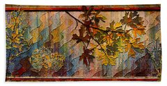 Hand Towel featuring the photograph Nature Tapestry 1997 by Padre Art