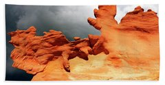 Hand Towel featuring the photograph Nature's Artistry Nevada 2 by Bob Christopher