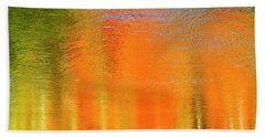 Hand Towel featuring the photograph Nature's Canvas by Gary Hall