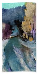 Nature's Ebb And Flow Hand Towel by Michele Carter