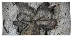 Nature's Emoticon Hand Towel
