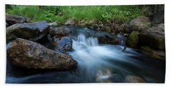 Nature's Harmony Bath Towel by Sue Cullumber