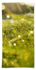 Nature's Sparkles Hand Towel