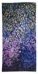 Natures Stain Glass Symphony Hand Towel