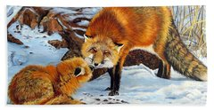 Natures Submission Bath Towel by Marilyn McNish