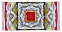 Nautical Knots Kaleidoscope Bath Towel