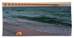 Nautilus And Pier Bath Towel