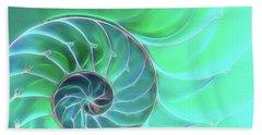 Nautilus Aqua Spiral Bath Towel