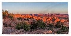 Navajo Land Morning Splendor Hand Towel