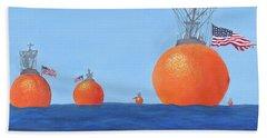 Naval Oranges Hand Towel