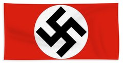 Nazi Flag 1920-1945 Hand Towel