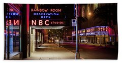Nbc Studios Nyc  Bath Towel