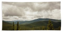 Near Monarch Pass At The Continental Divide Hand Towel